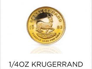 1/4 oz Kruger rand
