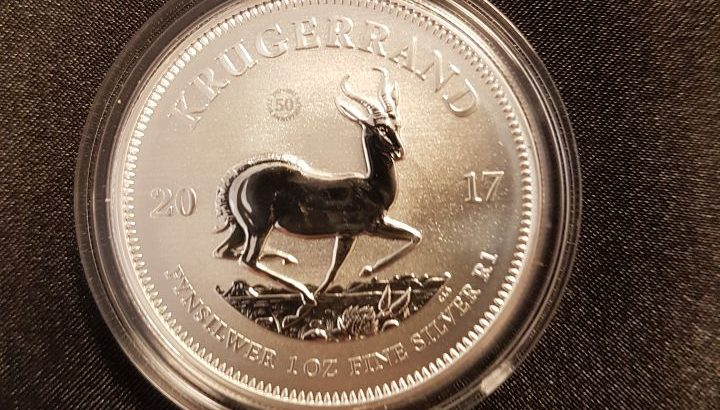 Buy 2017 Silver Krugerrands 50th Anniversary with mint mark